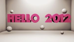 Hello 2012 by crisfx