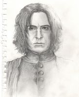 Early Severus Sketch 1 by dixiekasilke
