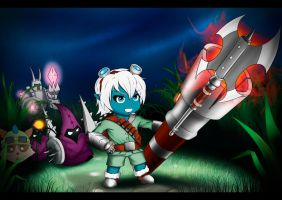 Tristana is goin' melee by AlSklad