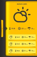 Simpli Weather Project 3 by PwrdesignStudio