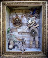 Assemblage: Puppet Master by bugatha1