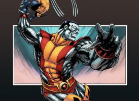 X-Men Colossus by logicfun