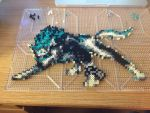 Perler Wolf Link (Pre-Iron) by Proto-Kye
