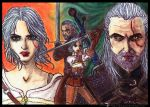 Witcher Wild Hunt by ladyjuna