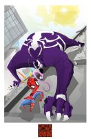 A bad day to be a superhero by Goretoon