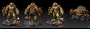 Cave Troll by AuDreee