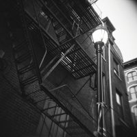 Fire escape by bewing