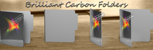 Brilliant Carbon Folders! by Fiazi