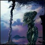 Alien to the lake by MarcoPagnotta