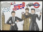 Il Volo in London by EmsVlis