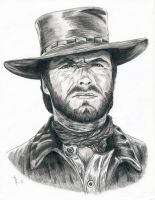 Clint Eastwood by GetchaPull