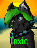 Toxic Badge by Punk-Mutt