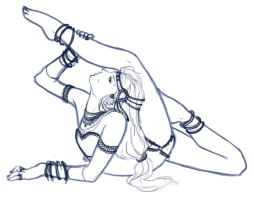 Contortionist WIP by Hakari-chan