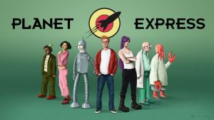 Futurama fanart : Planet Express Team by SebDus
