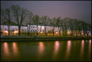 Bank of Aurariver in Turku by eswendel