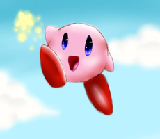 Kirby b-day present by HikariDana