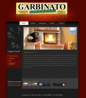 Garbinato website by michan