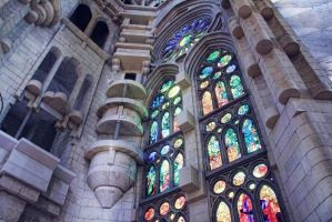 Sagrada Familia by Yasmins