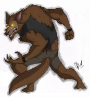 Reginald the Werewolf by Inked-Alpha