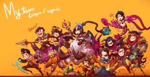 FanArt League of Legends For friends FINAL by LataeDelan