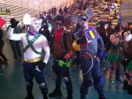 Throttle, Vinnie and Modo (Ficosplay Chile 2014) by marvincmf