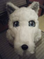 White Wolf Partial by Lyrehn