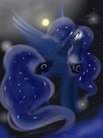 Luna lament by Himesatou