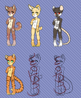 || Adopt batch 001 || ALL 50 EXCEPT CUSTOMS by I-Sugoi-I