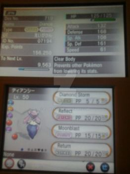 diancie for sale/trade OTD (CLOSE) by fluffy40