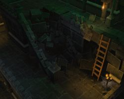 Diablo 3 Stairs Final Shot by S0id3