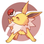 COMMISSION: Jolteon by SeviYummy