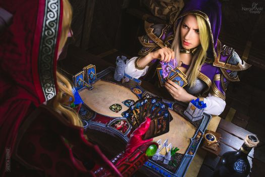 Hearthstone - Mage vs Rogue by Narga-Lifestream