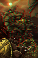 TMNT Anaglyph by xmancyclops