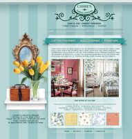 Interior Decorator Web Site by supermasterninjaspy