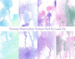 Dreamy watercolour texture pack by LualaDy