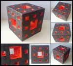 Menger Sponge - level two by lonely--soldier