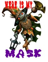 weres my MASK by e-rock95