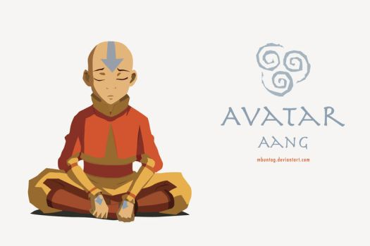 Introspective Aang by mbuntag