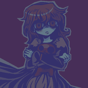 [3 Colors Challenge] Lavender Child by aPixelPerfectionist