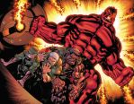 Red Hulk Double Page by xXNightblade08Xx