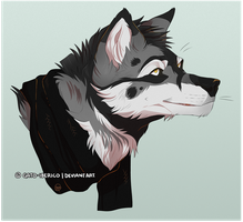 Sil Bust Commission by Gato-Iberico
