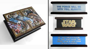 Star Wars: the original- hand-painted box by RFabiano