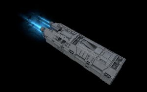 And Yet Another Spaceship WIP 10 by eRe4s3r