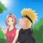 Narusaku: stare by chrztal by Orange-Blossom-Club