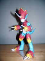 Flamedramon Papercraft by Arc-Caster135