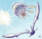 Pokeddexy 8 and 9: Flying and Ghost by comixqueen
