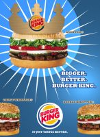 Burger King Ad by pedrosampaio