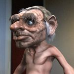 Hoggle 3D WIP by FoxHound1984