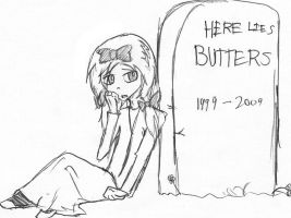 Here Lies Butters by cat-gray-and-me78