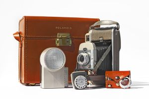 Polaroid Model 80A and Case by Ryan-Warner